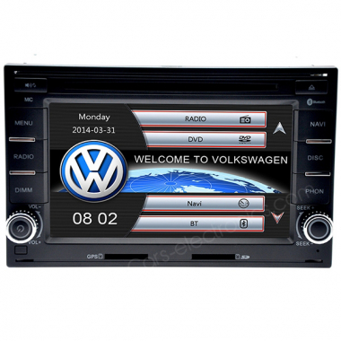 2 Din VW Golf 4 DVD Player - Volkswagen Golf 4 GPS Navigation Car DVD Radio