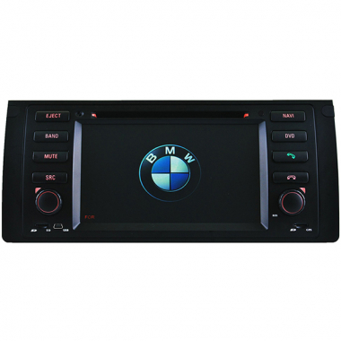 "BMW X5 DVD Player with GPS Navigation E53 2001-2007 Can Bus TV Singel Din 7"" Digital Screen"