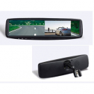 4.3 Inch LCD Rearview Mirror Monitor Two Video Inputs with Bracket for replacement