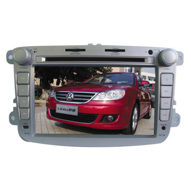 VW Lavida Car DVD Player 2 Din 7 Inch Digital Screen with IPOD Bluetooth FM/AM (GPS Optional)