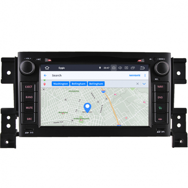 Android Suzuki Grand Vitara Radio Replacement Navigation System Double Din DVD