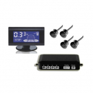 Backup Parking Sensor Blue LCD Display 4 Sensors