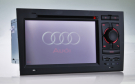 AUDI A4 DVD Player GPS Navigation 7 Inch 2 DIN Digital Screen with GPS /DVD/Bluetooth/TV/FM/IPOD/RDS/CAN BUS