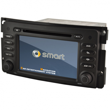Smart ForTwo DVD Player-SmartForTwo GPS Navigation with Can Bus CDC