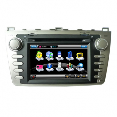 2 Din Mazda 6 Navigation DVD Mazda 6 Bluetooth Radio