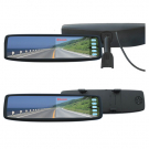 Car Rear View Mirror with 4.3 Inch LCD Monitor RearView Camera Optional