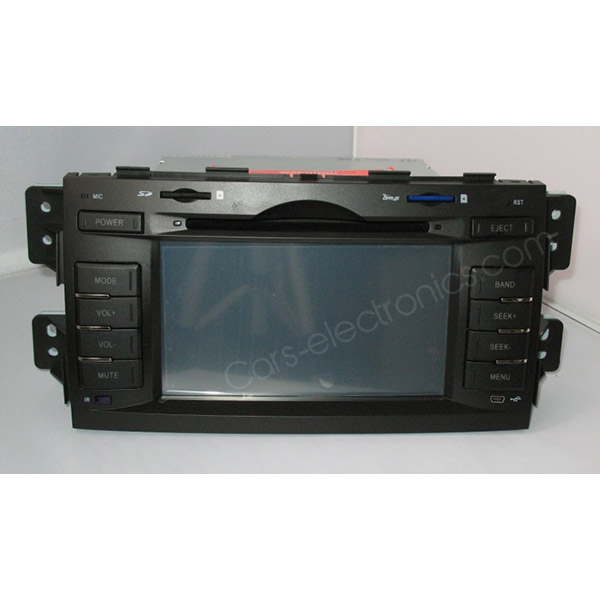 Special Car DVD for KIA Borrego SUV or MOHAVE with Gps Navigation - Click Image to Close
