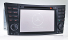 2 Din Benz W211 DVD Player - E Class Benz W211 GPS Navigation Radio Bluetooth