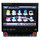 "7"" One Din DVD Player for Car GPS Radio Touch Screen SD iPod Bluetooth TV"
