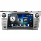 Double Din Toyota Camry DVD Player with GPS Navigation IPOD TV-Tuner 8 inch LCD Touchscreen