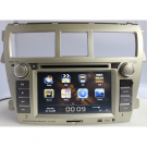 Toyota Vios Car DVD Player with GPS TV-Tuner FM Bluetooth RDS 6.2 Inch TFT LCD Digital Touch Screen