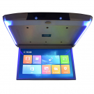 Car Bus Roof Mounted Android Monitor Flip Down IPS Screen With WiFi HDMI USB SD AV-IN