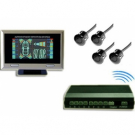 VFD Display Wireless Parking Sensor with 4 Sensors