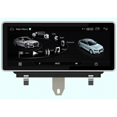 Android Audi Q3 Screen Replacement Navigation System Touch Screen Radio Upgrade Head Unit