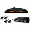 Parking Sensor Wireless LED Display with Switch 4 Sensors