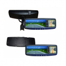 4.3 Inch Rear View Mirror monitor Touch Screen with GPS Navigation & Bluetooth & FM &Auto-dimming & TMC