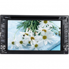 Double Din In-Dash Car DVD Player GPS Navigation with TV Support SD USB IPOD