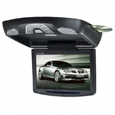 11 Inch Flip-Down DVD Player /LCD Monitor with FM SD USB DVD MP4 DIVX Speaker