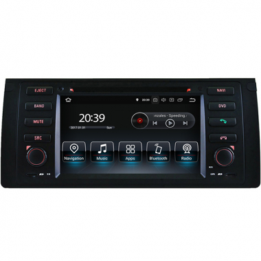 BMW X5 E53 Radio Upgrade Android Head Unit Replacement Navigation DVD Player GPS