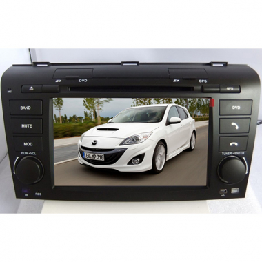 Mazda 3 Radio DVD Player with Mazda 3 Navi Digital TV