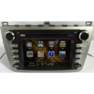 Double Din Mazda 6 DVD Player - Mazda 6 GPS Navigation Radio with TV IPOD RDS