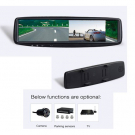 4.3 Inch TFT LCD Rearivew Monitor Clip on Original Mirror