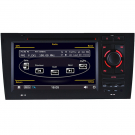 Audi A6 Navigation Car DVD Player with GPS/TV/IPOD/Can Bus/DVD/ Double Din 7 Inch Digital Screen
