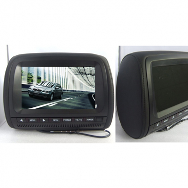 "2 Units 9"" Headrest Car Monitor TFT LCD Panel"