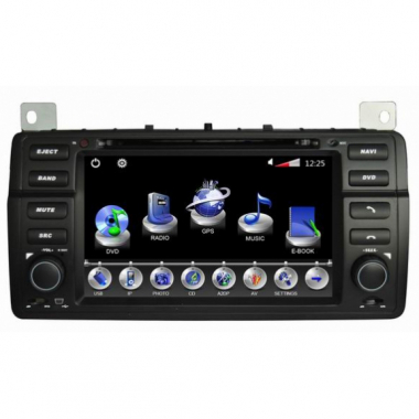 2 Din Rover 75 DVD Player MG 7 ROVE GPS Navigation Bluetooth Touch Screen Can Bus TV