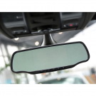5inch Car Rear View Mirror GPS Navigation HD 720P DVR Radar Backup Camera Bluetooth