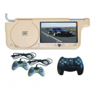 7 Inch Car Sunvisor DVD Player with Super-slim lcd Screen TV GAMES FM Antenna