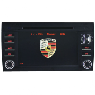 Porsche Cayenne Navigation - Porsche Cayenne DVD Player GPS 2 Din Head Unit