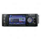 One Din 4 Inch LCD Car DVD Player with Bluetooth FM Ipod TV-Tuner 2G SD Card GPS DVB-T