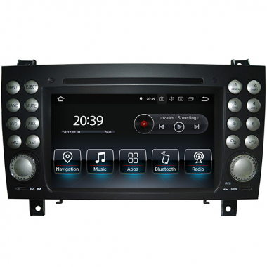 Mercedes Benz SLK R171 Android Radio Replacement GPS DVD Navigation Head Unit