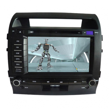 2 Din Toyota Land Cruiser DVD Player - Toyota Land Cruiser GPS Navigation DVD
