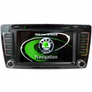 Double Din SKODA Octavia DVD Player - SKODA Octavia GPS Navigation Car DVD Radio