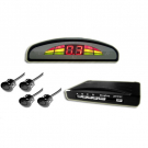 Free Shhipping Wireless Parking Sensor Mini LED Display with 4 Sensors