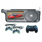 7 Inch Car Sunvisor DVD Player with Games FM USB Sony Lens can be Right or Left Side