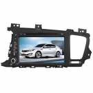 "2 Din Kia K5 DVD Player - Kia K5 GPS Navigation 8"" LCD Touch Screen Radio Bluetooth"