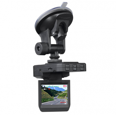 Portable Car DVR Swivel LCD Display Car Recorder Camera