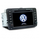 7 Inch Double Din Car DVD Player Special car dvd player for VW with GPS Bluetooth FM IPOD (DVB-T Optional)