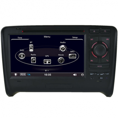 Special Car DVD Navigation for AUDI TT with GPS Navigation/DVD/Bluetooth/TV/FM/IPOD/RDS/CAN BUS Audi Navigation DVD