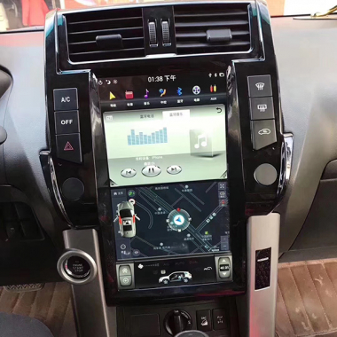 2010-2013 Toyota Land Cruiser Prado Android Head Unit Radio GPS Navigation Replacement