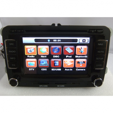 6.5 Inch 2 DIN VW DVD Digital Screen Special for Volkswagen Jetta/ SAGITAR/ BORA MAGOTAN/ TOURAN/CADDY/ NEW BARO/GOLF V/GOLF 6/Passat B6