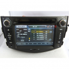 Toyota RAV4 GPS 2-Din Car DVD Player 7 Inch TFT LCD Digital Screen with Bluetooth RDS TV-Tuner Ipod
