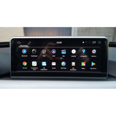 "10.25"" BMW F30 Android Head Unit Upgrade Navigation Touch Screen Upgrade With WiFi Bluetooth Apple Carplay"