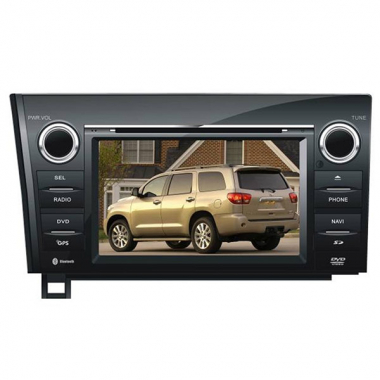 2 Din Toyota Tundra DVD Player - Toyota Tundra GPS Navigation Car Radio
