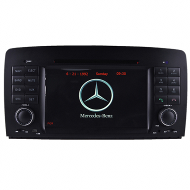 2 Din Mercedes Benz W251 R280 R320 R350 R500 DVD Player GPS Navigation Bluetooth PIP