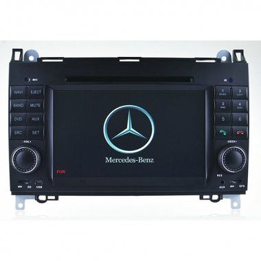 Double Din Mercedes Benz A-Class W169 DVD Player - Mercedes W169 GPS Navigation System