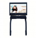 7 Inch Armrest Monitor TFT LCD 350 Angle Swiveling